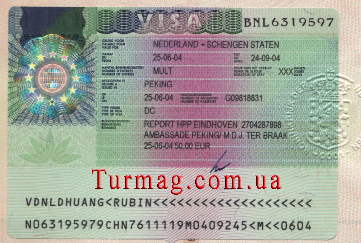 Виза в голландию для неграждан