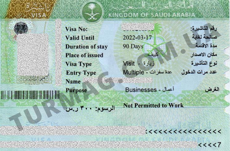 Виза в Саудовскую Аравию. Получение и оформление визы.