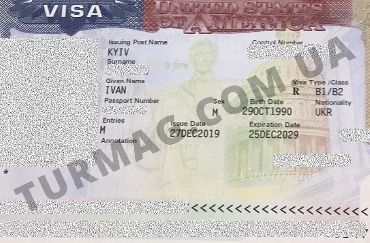Виза в США. Получение и оформление американской визы.